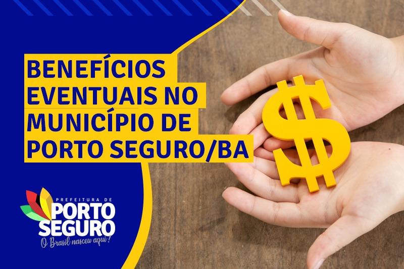 Benefícios Eventuais no município de Porto Seguro 31