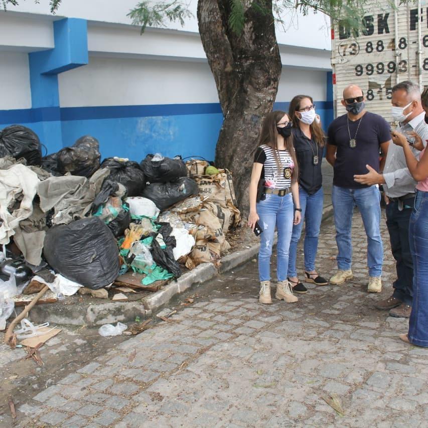 Polícia identifica dois suspeitos de descarte irregular de lixo em via pública 34