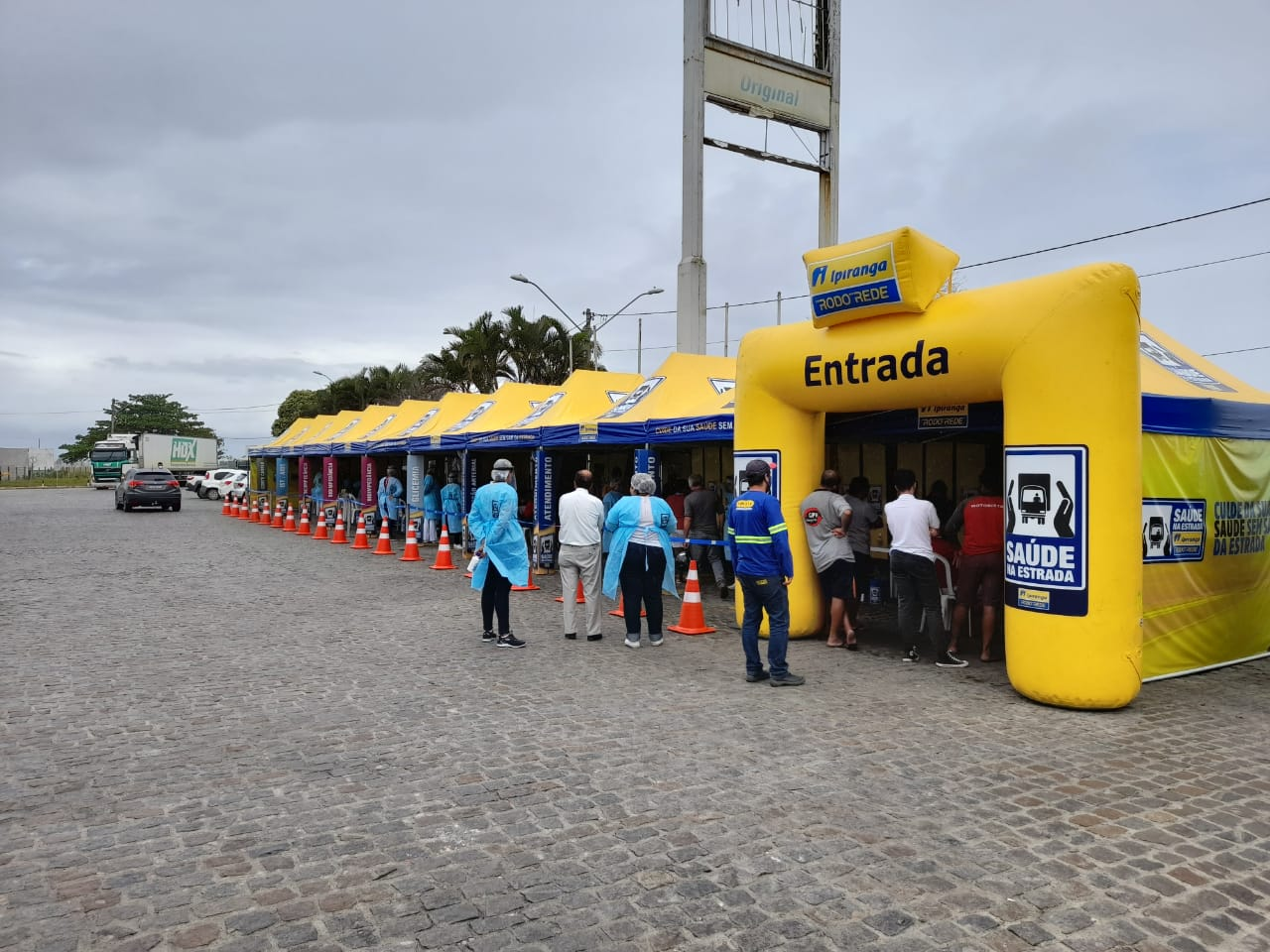 Prefeitura de Eunápolis apoia projeto Saúde nas Estradas 24