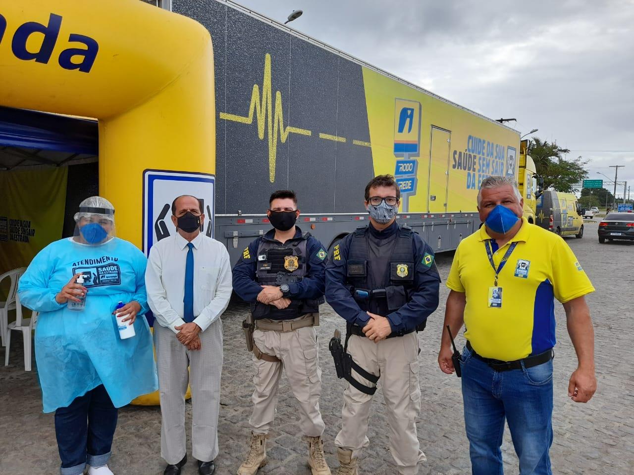 Prefeitura de Eunápolis apoia projeto Saúde nas Estradas 22