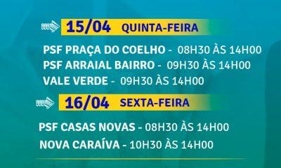 Cronograma de vacinação 2ª dose contra Covid-19 em Porto Seguro 39