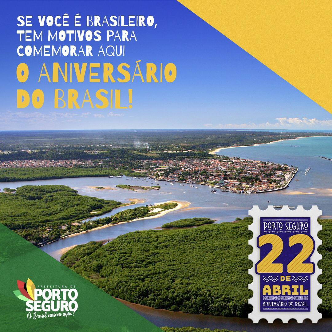 """Prefeitura de Porto Seguro lança o projeto """"22 de Abril – Aniversário do Brasil"""" 29"""