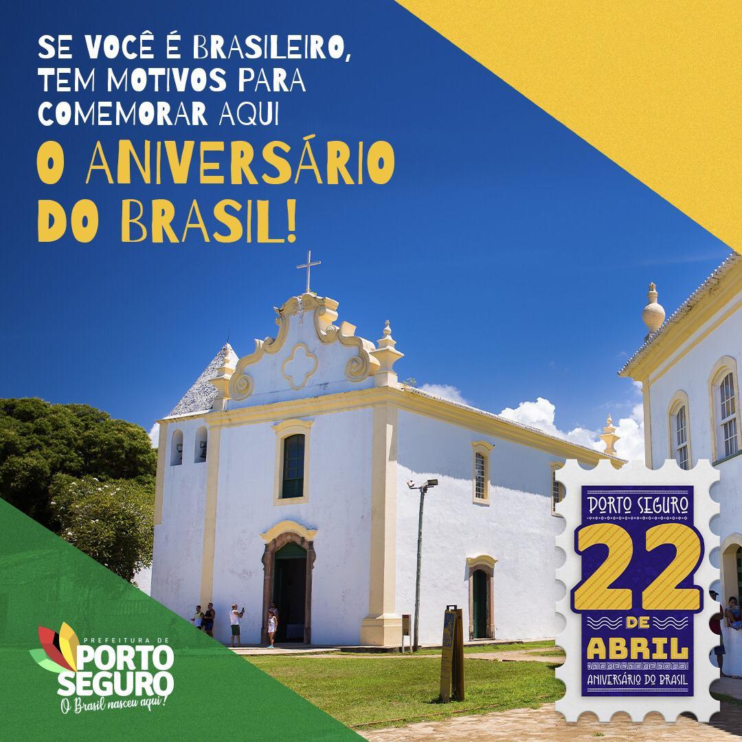 """Prefeitura de Porto Seguro lança o projeto """"22 de Abril – Aniversário do Brasil"""" 28"""