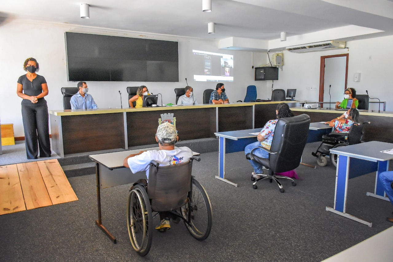 Porto Seguro: Empossados os novos membros do Conselho das Pessoas com Deficiência 21