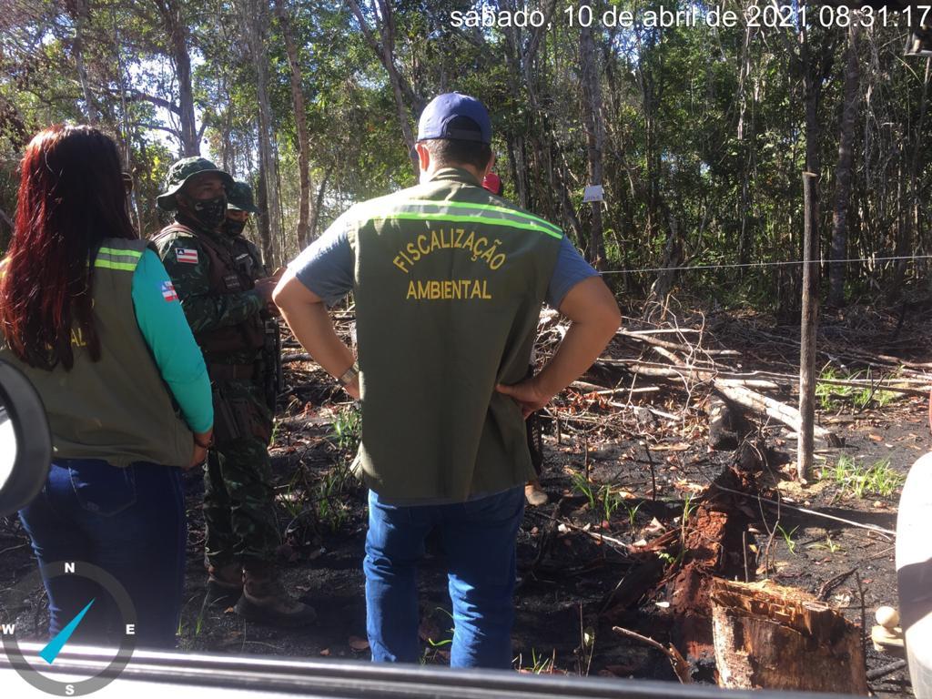 Secretaria de Meio Ambiente coíbe desmatamento, invasões e construções irregulares 20