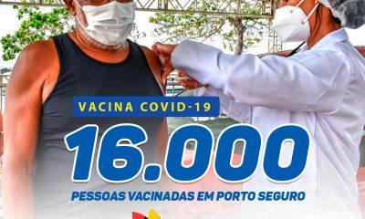 Porto Seguro avança na vacinação contra a COVID-19 33