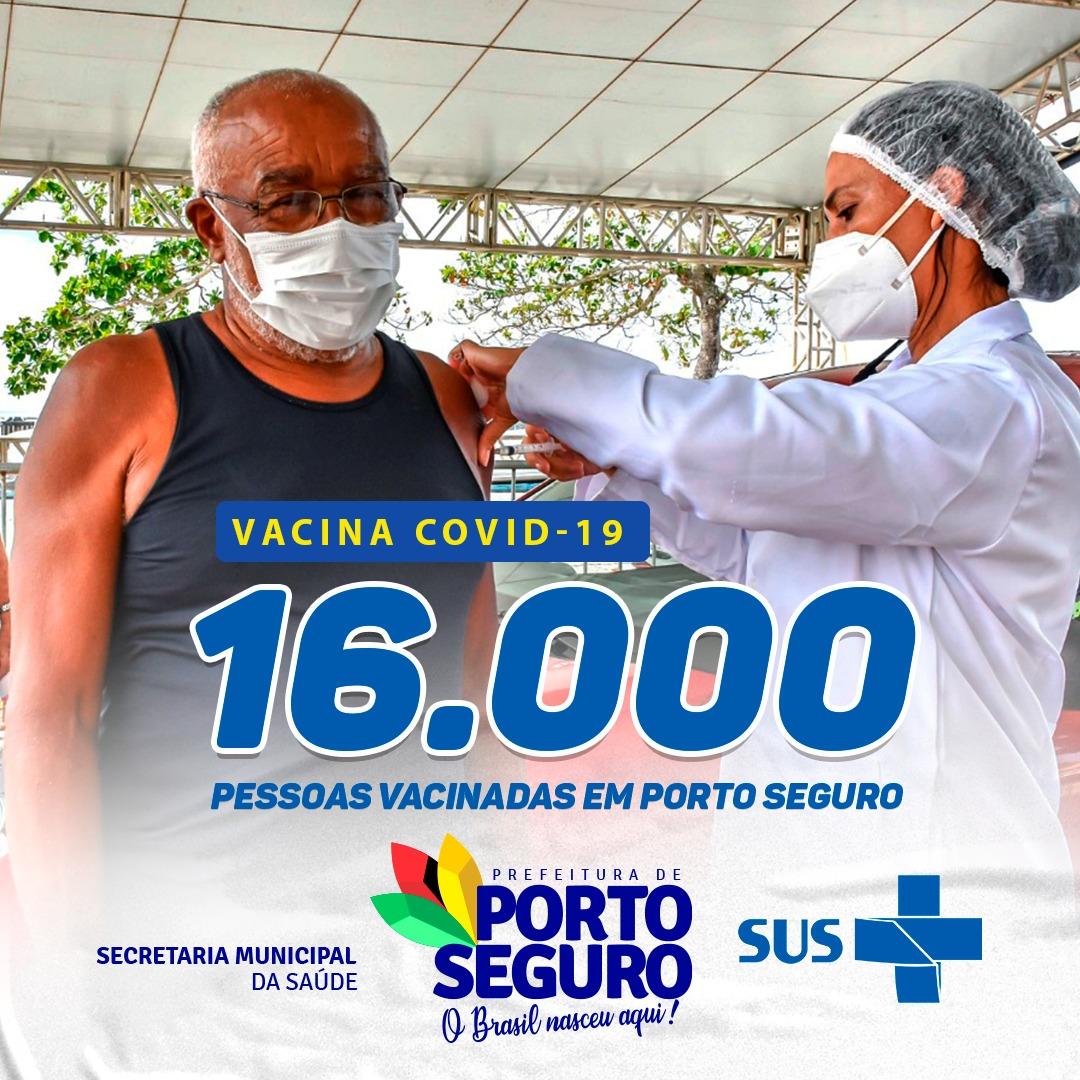 Porto Seguro avança na vacinação contra a COVID-19 18