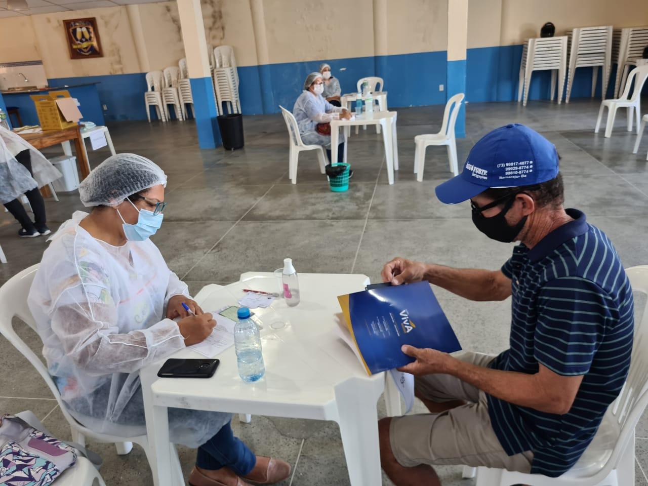 Segunda dose da vacina contra Covid-19 está garantida em Eunápolis 24