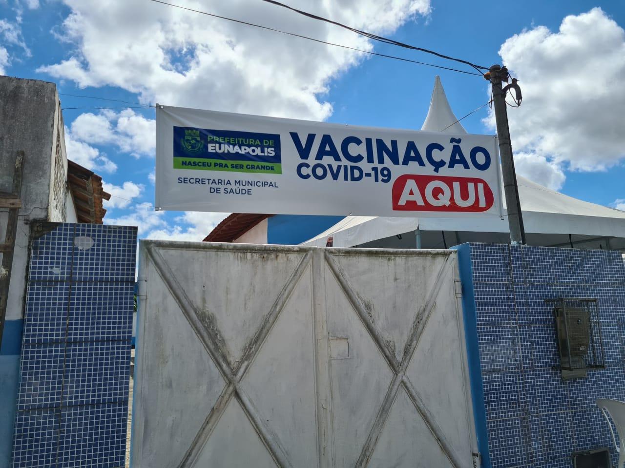 Segunda dose da vacina contra Covid-19 está garantida em Eunápolis 23