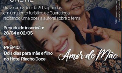 Inscrições abertas para concurso cultural 'Amor de Mãe' em Guaratinga 21