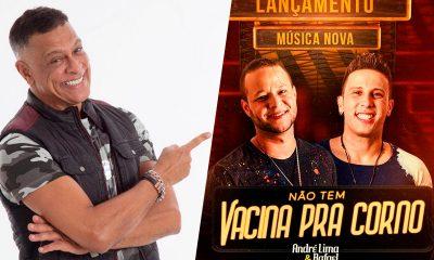 Humorista Renato Piaba grava vídeo curtindo música de André Lima e Rafael 22