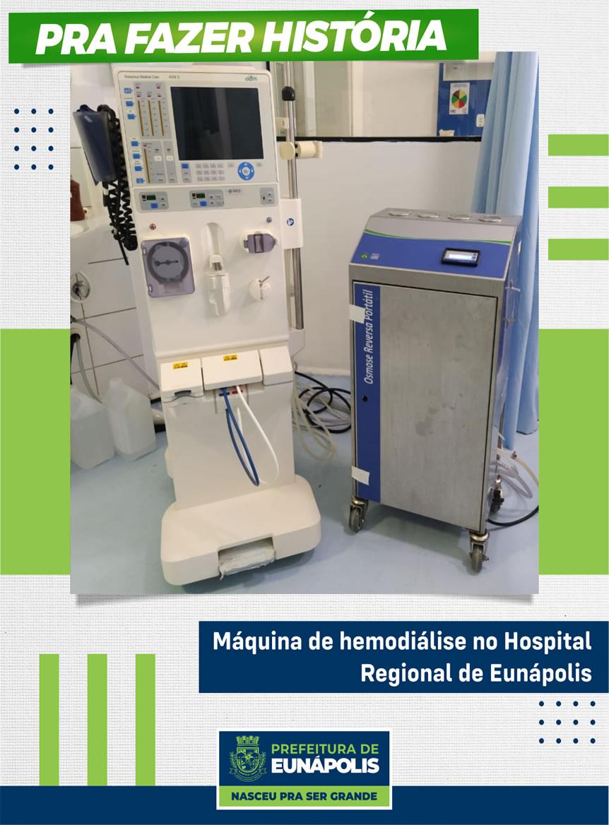 Hemodiálise no Hospital Regional de Eunápolis 18