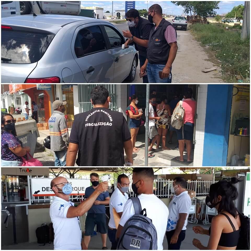 Prefeitura de Eunápolis realiza blitz sanitária em diversos pontos da cidade 23