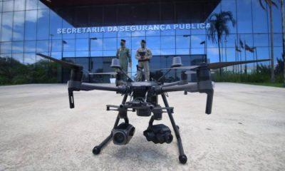 Polícia Militar e Bombeiros da Bahia recebem drones com transmissão de imagem on line 18