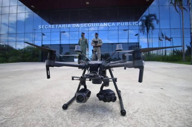 Polícia Militar e Bombeiros da Bahia recebem drones com transmissão de imagem on line 20