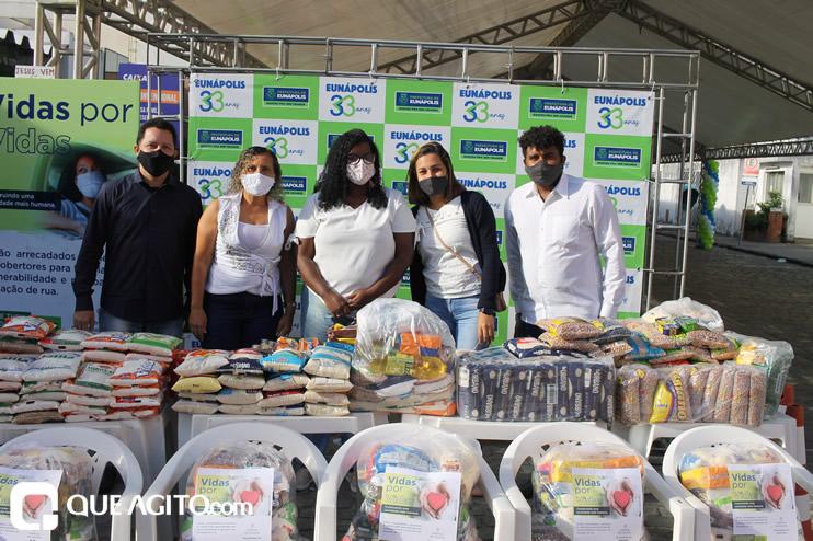 Projeto Vidas por Vidas arrecada alimentos e donativos em drive-thru solidário 29