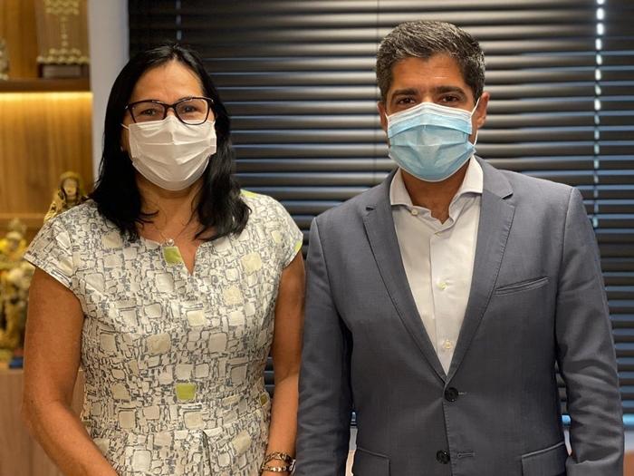 Prefeita Marlene Dantas se reúne com ACM Neto e Sandro Régis na busca de melhorias para Guaratinga 20