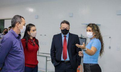 Prefeita Cordélia Torres apresenta instalações do HRE ao Juiz do Trabalho, Jeferson de Castro 42