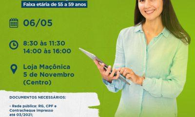 Eunápolis inicia nesta quinta-feira (06), vacinação contra Covid-19 em Profissionais da educação, acima de 55 anos. 5