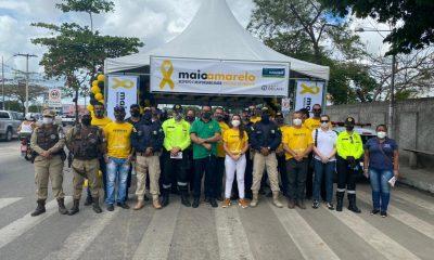 Prefeitura de Eunápolis inicia campanha Maio Amarelo por um trânsito mais seguro 21