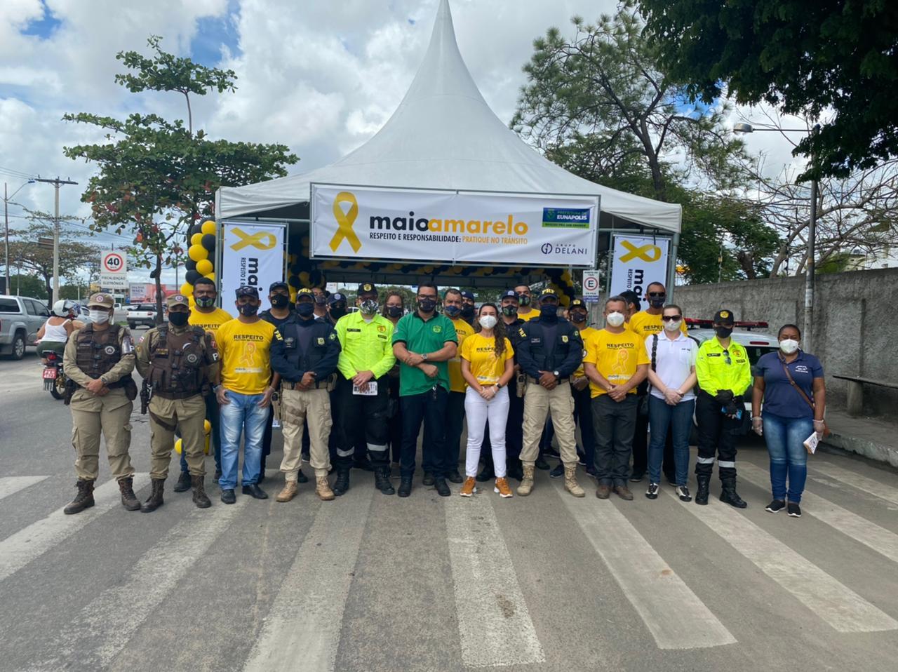 Prefeitura de Eunápolis inicia campanha Maio Amarelo por um trânsito mais seguro 24