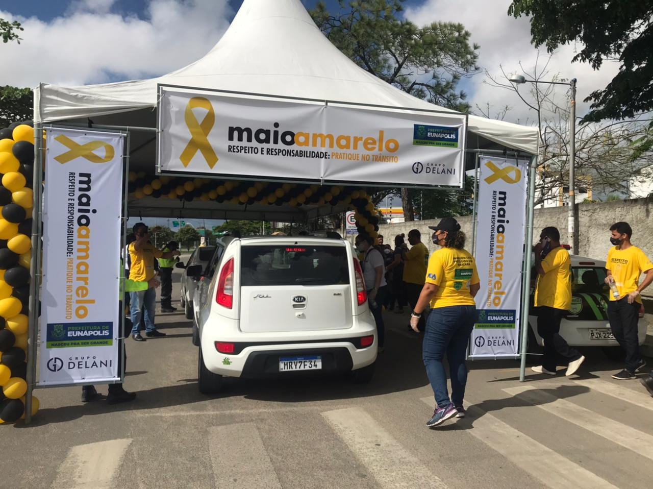 Prefeitura de Eunápolis inicia campanha Maio Amarelo por um trânsito mais seguro 26
