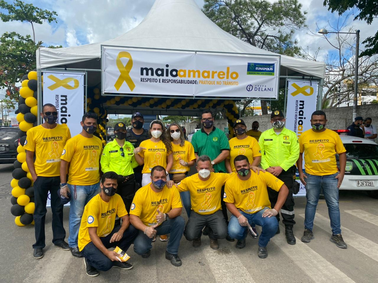 Prefeitura de Eunápolis inicia campanha Maio Amarelo por um trânsito mais seguro 27