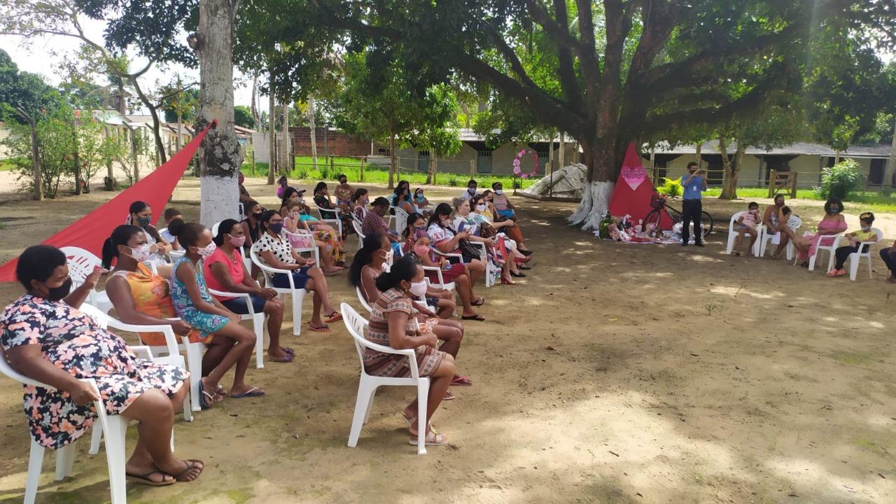 Programação especial homenageia mães beneficiárias dos programas da Assistência Social, em Eunápolis 21