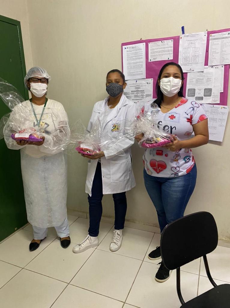 Homenagem a semana de enfermagem no município de Porto Seguro 24