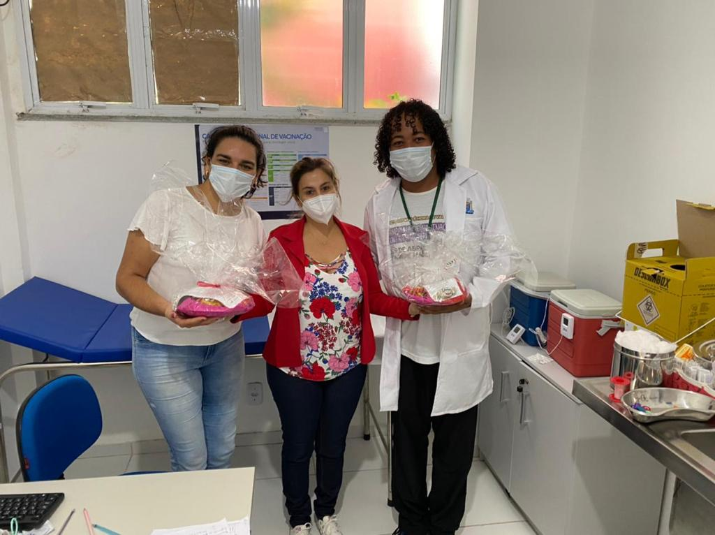 Homenagem a semana de enfermagem no município de Porto Seguro 20