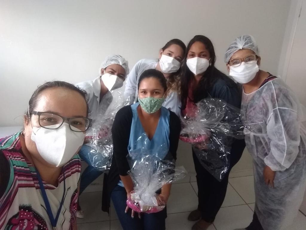 Homenagem a semana de enfermagem no município de Porto Seguro 19