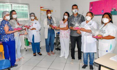 Homenagem a semana de enfermagem no município de Porto Seguro 22