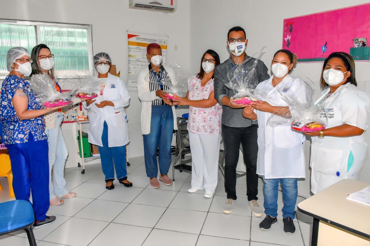 Homenagem a semana de enfermagem no município de Porto Seguro 26