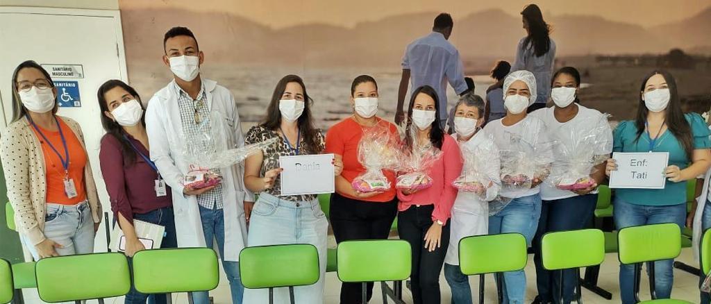 Homenagem a semana de enfermagem no município de Porto Seguro 18