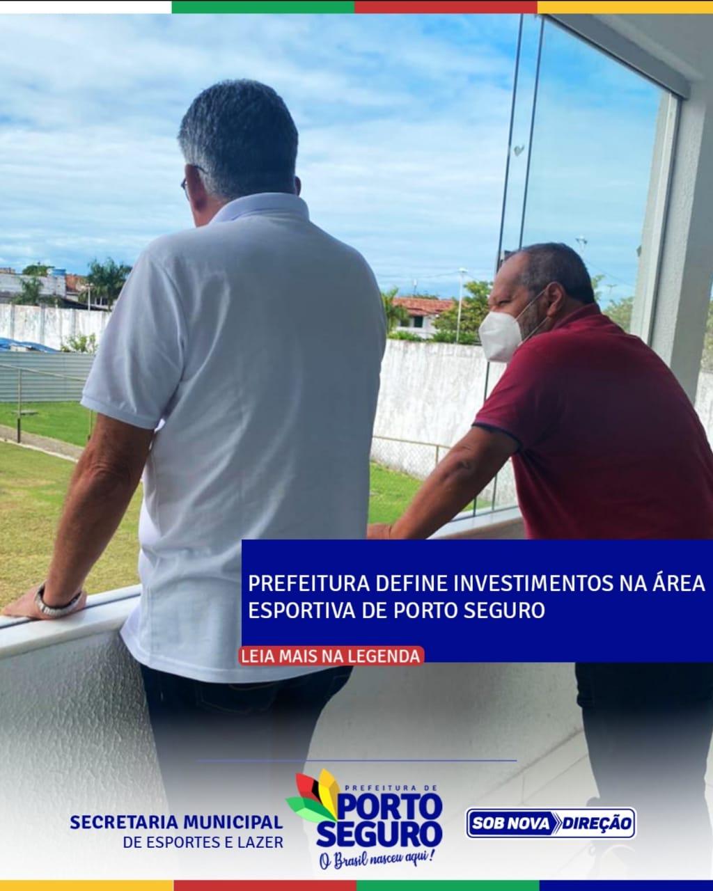 Prefeitura define investimentos na área esportiva de Porto Seguro 18