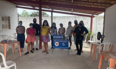 Assistência Social e Conselho Municipal da Pessoa com Deficiência promovem reunião com a ASDEFE 59