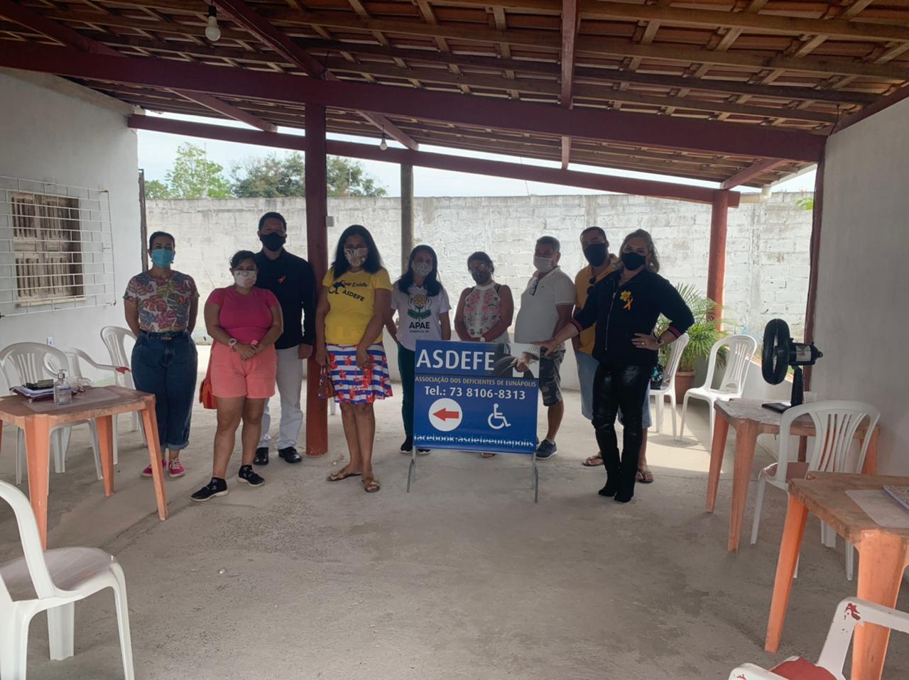 Assistência Social e Conselho Municipal da Pessoa com Deficiência promovem reunião com a ASDEFE 20