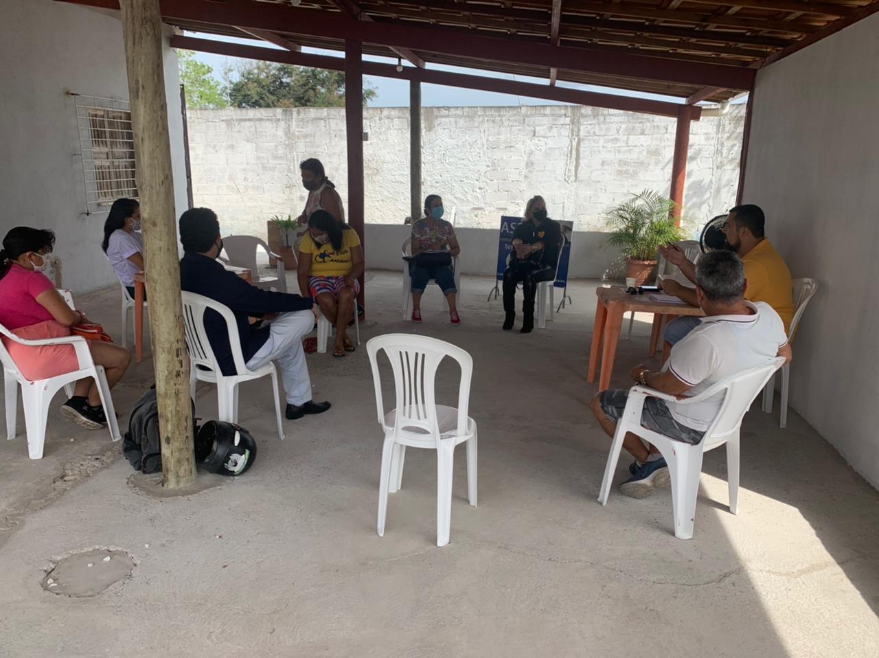 Assistência Social e Conselho Municipal da Pessoa com Deficiência promovem reunião com a ASDEFE 21