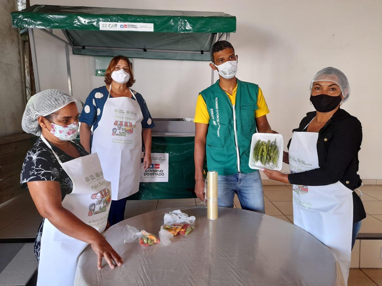 Feirantes de Eunápolis recebem capacitação sobre manipulação de alimentos 26