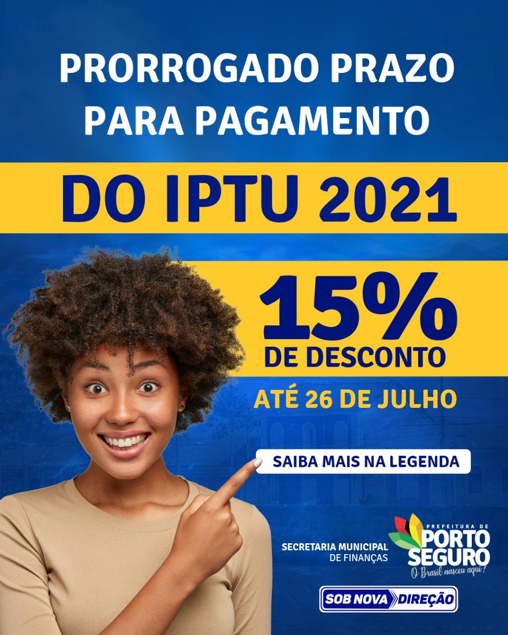 PORTO SEGURO: NOTÍCIA BOA PARA O CONTRIBUINTE! 18