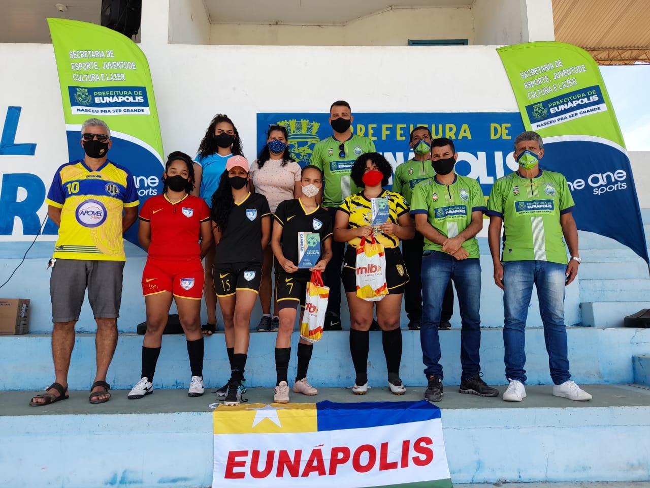 1º Torneio de Pênalti de Eunápolis envolveu 50 atletas entre homens e mulheres 24