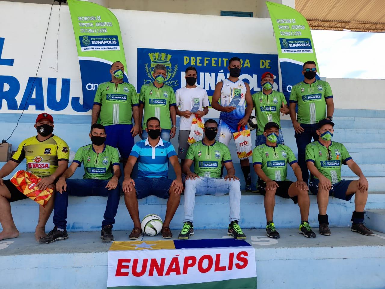 1º Torneio de Pênalti de Eunápolis envolveu 50 atletas entre homens e mulheres 27