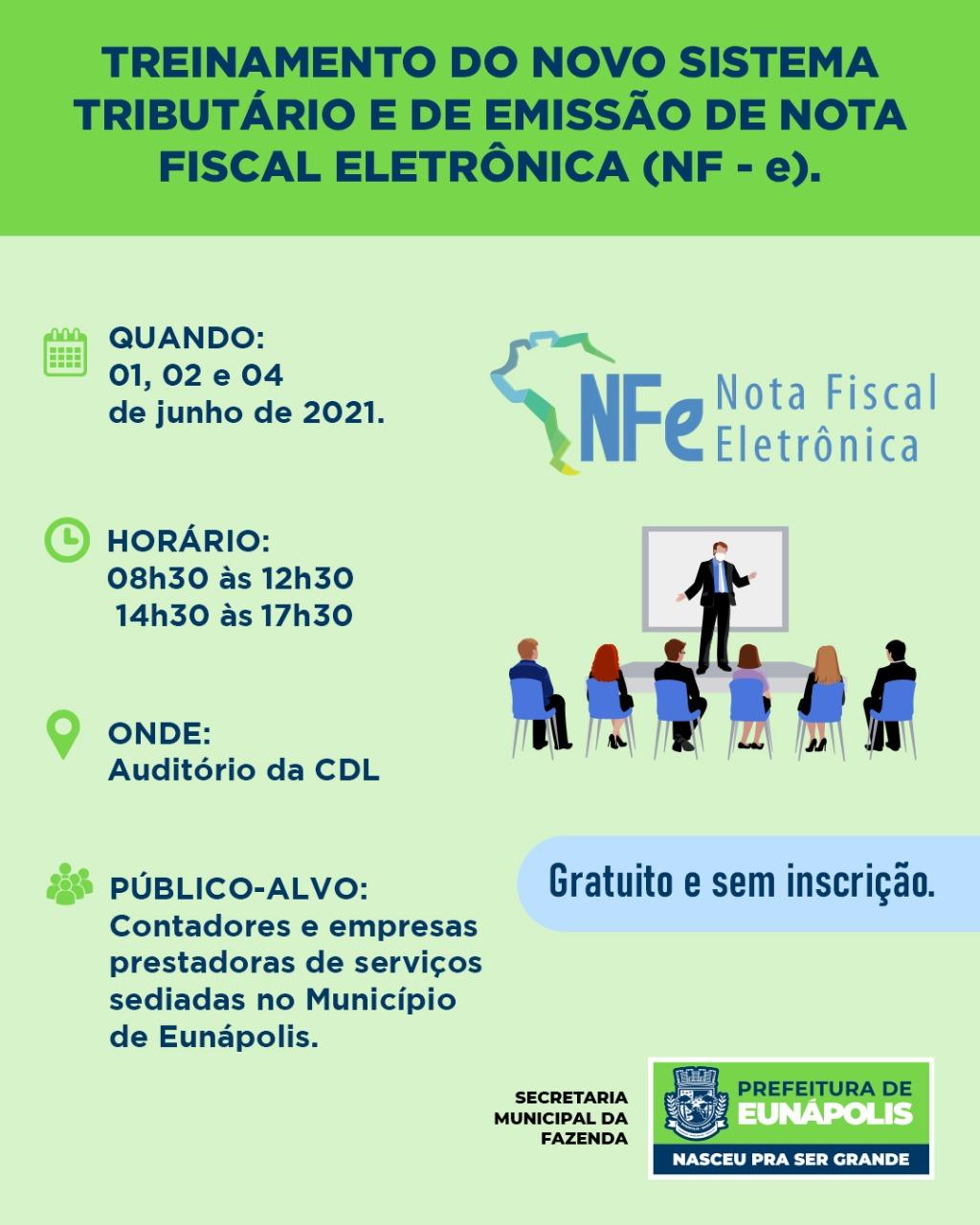 Prefeitura de Eunápolis realiza treinamento sobre novo sistema de emissão de NF-e 18