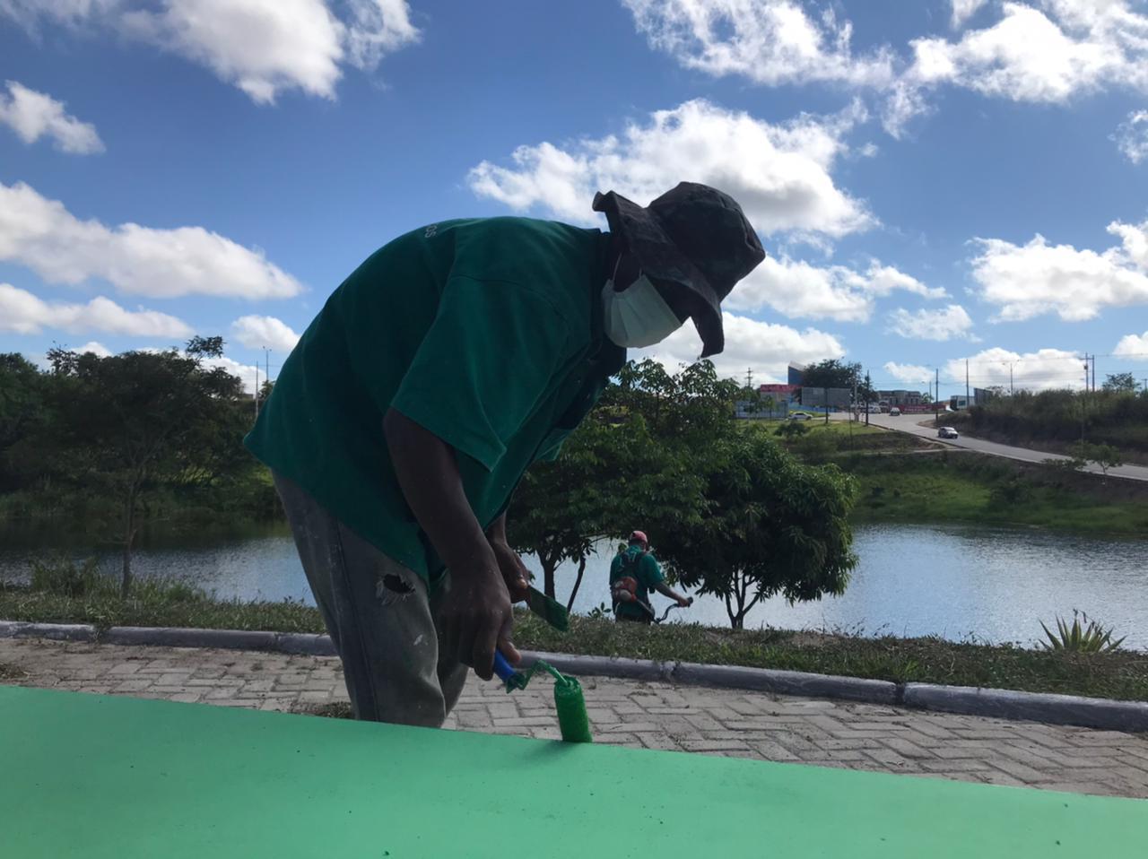Prefeitura de Eunápolis dá início ao Projeto Mais Verde 23