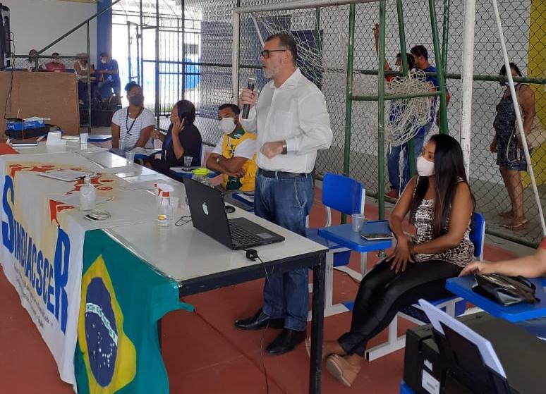 Prefeitura de Eunápolis ouve demandas dos Agentes de Saúde em Assembleia da Categoria 23