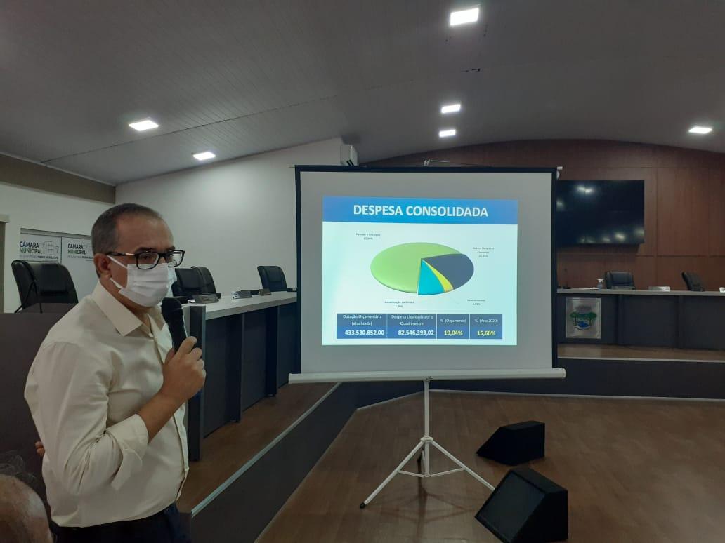 Com transparência a Prefeitura de Eunápolis promove prestação de contas 22