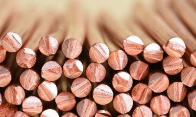 Preço do cobre salta 135% e bate máxima recorde 22