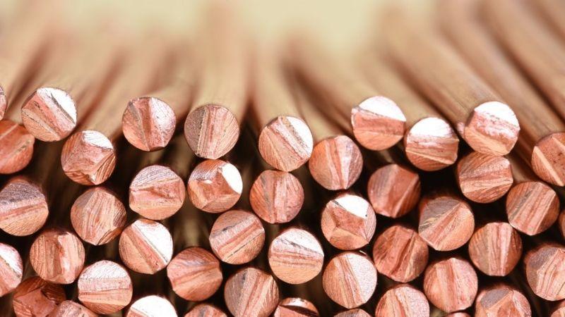 Preço do cobre salta 135% e bate máxima recorde 18