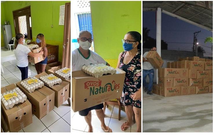 Eunápolis: Empresa entrega cestas básicas para famílias carentes 18
