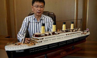 Empresário constrói réplica do Titanic em tamanho real na China 20